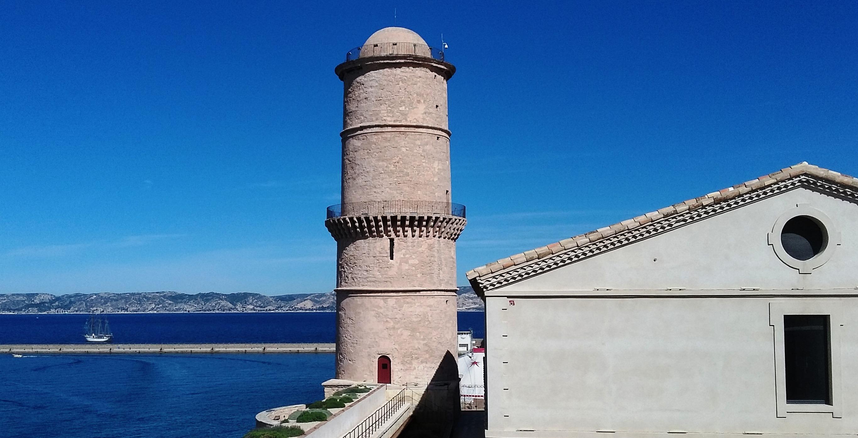 Das Fort Saint-Jean in Marseille