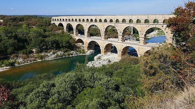 Der Pont-du-Gard