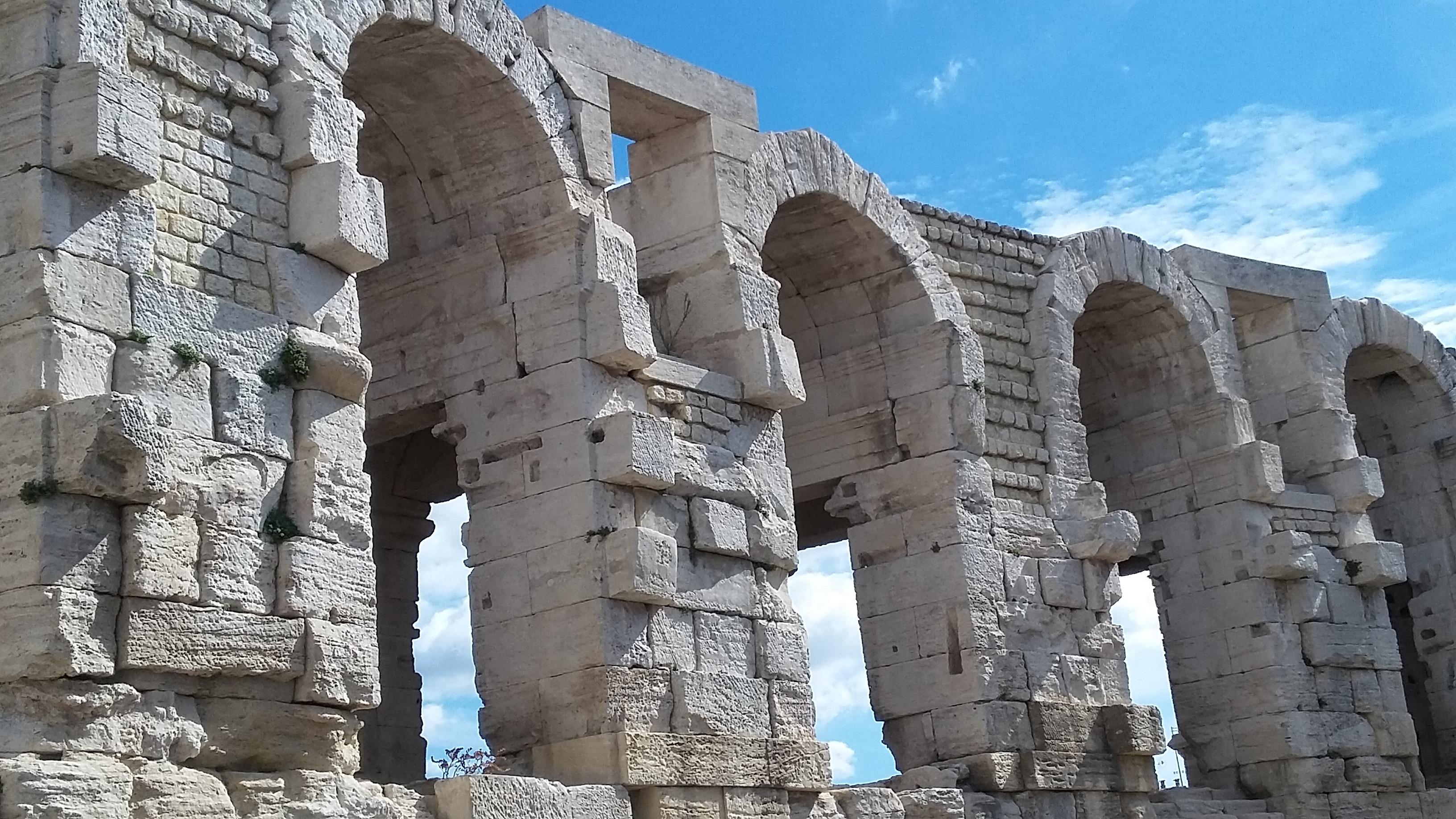 Römisches Amphitheater in Arles